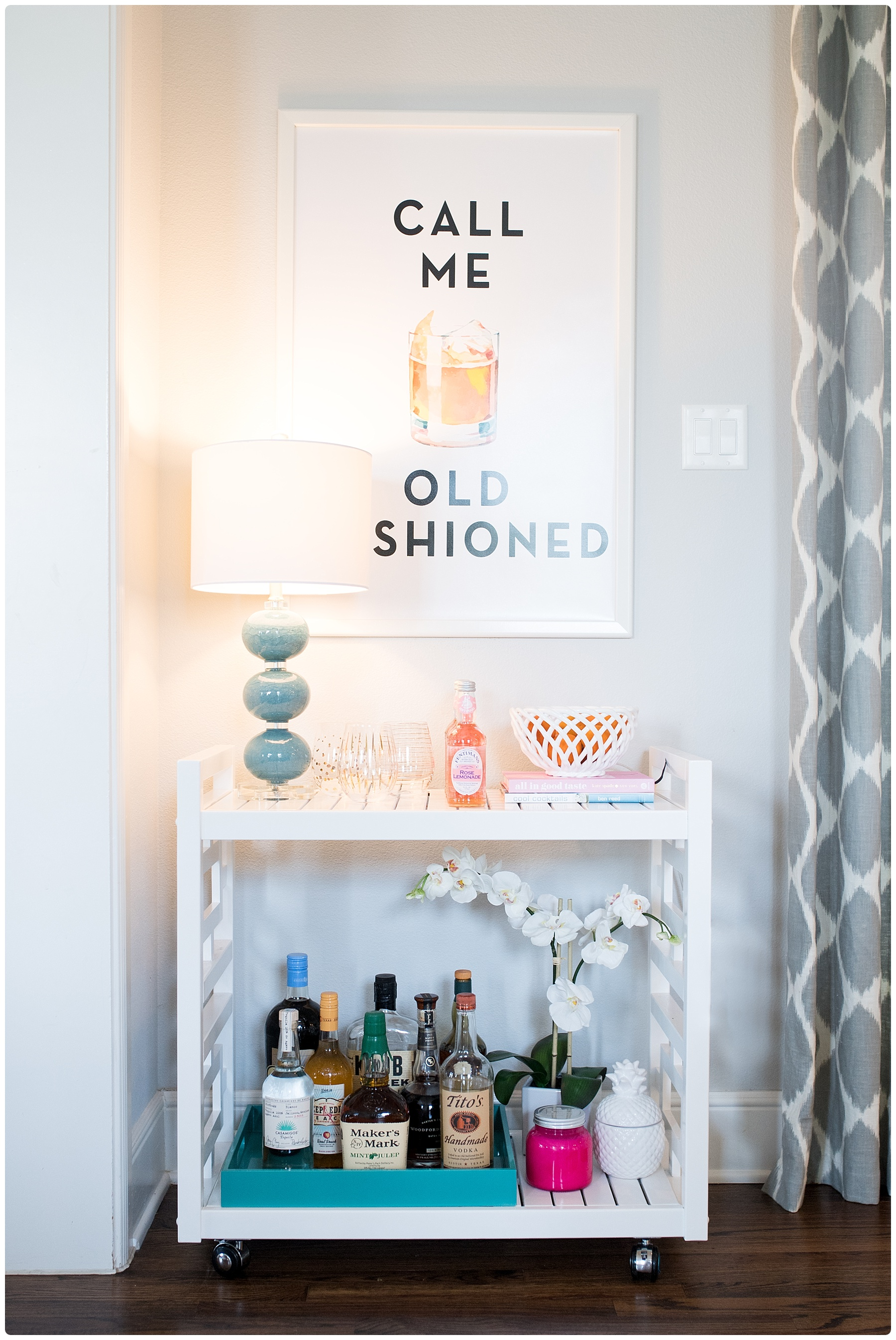 Call Me Old Fashioned How To Style A Bar Cart Style Duplicated